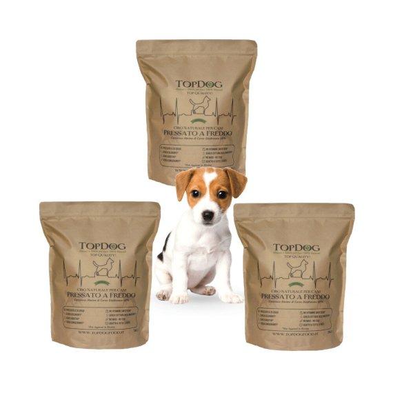 miglior cibo naturale per cuccioli