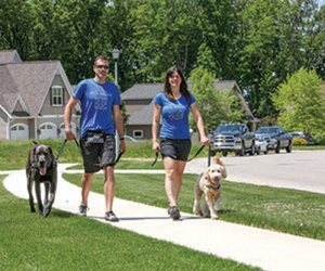 Sophisticated Michigan Dog Walking Business is Growing