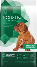 Holistic Select Natural Dry Dog Food, Large & Giant Breed Puppy Recipe, 30-Pound Bag