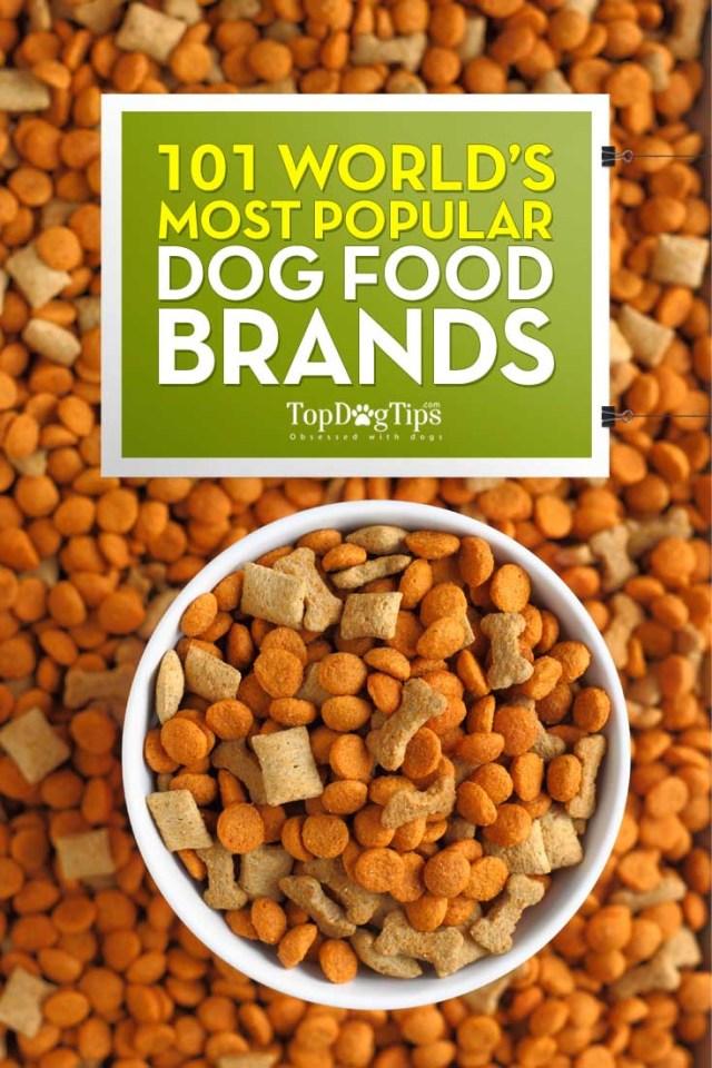 Most Popular Dog Food Brands