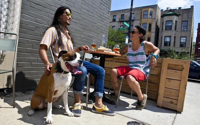 It's Now Legal to Dine Out With Your Dog In New YorkIt's Now Legal to Dine Out With Your Dog In New York