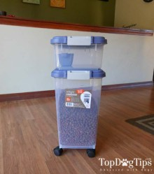 Testing one of the Best Dog Food Containers