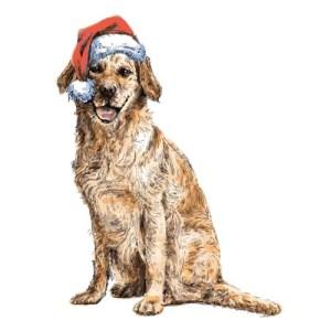 DIY Christmas Dog Art for Dog Lovers