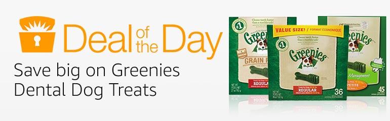 Greenies Dental Dog Treats Deal of the Day