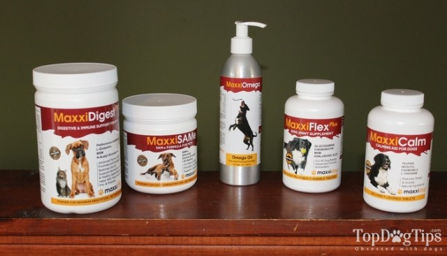MaxxiDog Supplements for Dogs