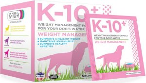 K-10+ Offers the Next Evolution in Dog Supplements and Health Products