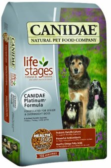 CANIDAE Life Stages Dry Dog Food for senior dogs