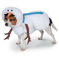 Snowman Costume for Dogs