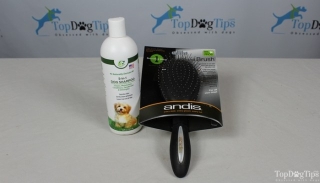 Andis Grooming Brush and Happy Dog Zone Shampoo Giveaway
