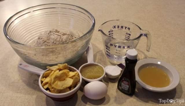 Apple Pupcake Dog Treat Recipe