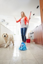 Pet friendly Floor cleaner for dogs