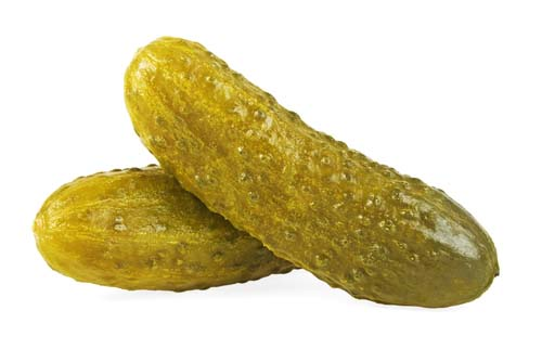 What do pickles look like