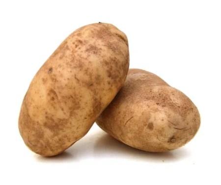 What do potatoes look like