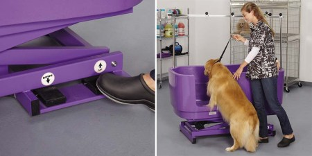Dog bath lift