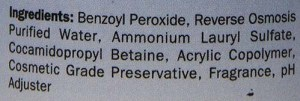 Medicated dog shampoo's ingredients