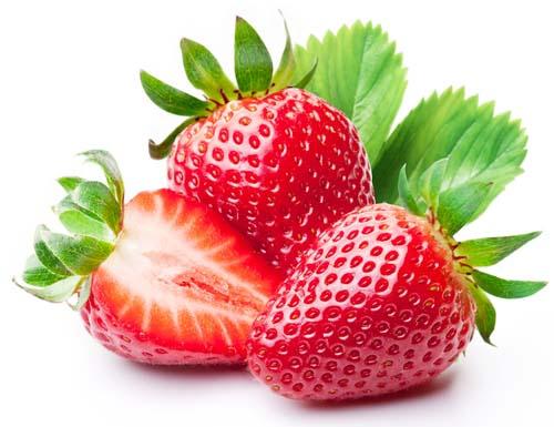 What do strawberries look like