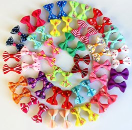Yagopet New Dog Hair Clips Small Bowknot