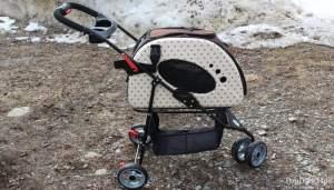 PetZip Mochi Pet Carrier Stroller - overall best stroller