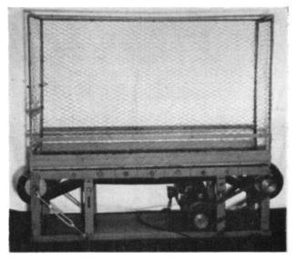 An old dog treadmill from 1954