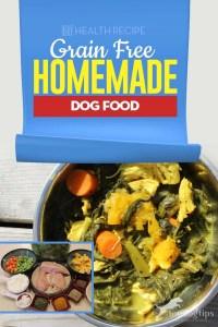 Healthy Grain Free Homemade Dog Food Recipe