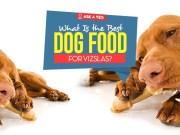 Top Best Dog Foods for Vizsla