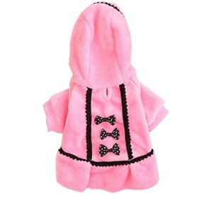 Neartime Dog Coat Pet Outfit Yorkie Garment