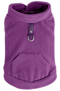Expawlorer Fleece Cold Weather Dog Vest for Small Dogs