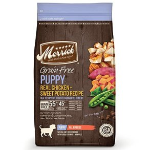 Merrick Grain Free Puppy Recipe Dry Food