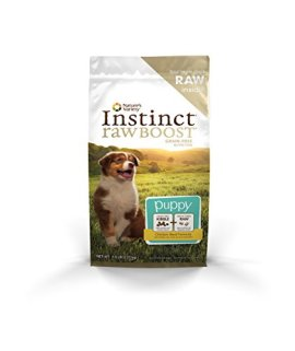 Nature's Variety Instinct Raw Boost Grain-Free Recipe Natural Dry Puppy Food