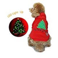 Royalwise's Light up Dog Shirt for Medium to Large Dogs