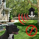 MATOP Outdoor Ultrasonic Dog Bark Controller Anti-Bark Training Birdhouse