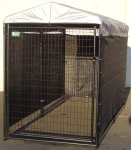 Lucky Dog Dog Kennel Shade Wind Screen