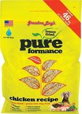 Grandma Lucy's PUREformance Freeze-Dried Dog Food