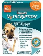 Sergeant's Vetscription Settle Down Pheromone Collar for Dogs