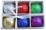 Festive Season Assorted Sparkle Christmas Ornament Balls