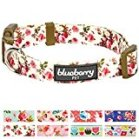 Blueberry Pet Floral Collar Collection