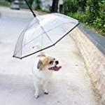 LESYPET Dog Umbrella with a Leash