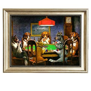Dogs Playing Poker by Cassius Marcellus