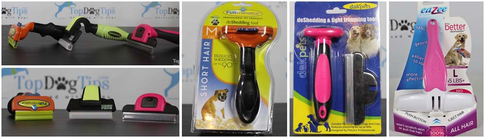 Testing the best deshedding tools for dogs