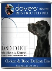 Restricted Bland Diet for Dogs by Dave's Pet Food