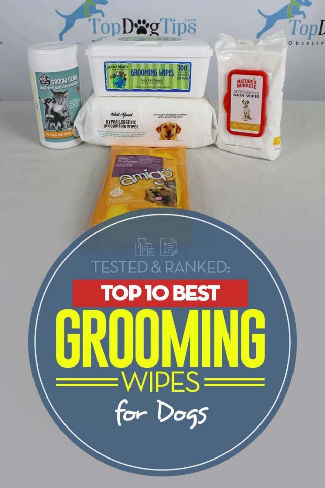Top Rated Dog Wipes for Grooming 2020