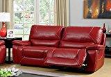 Furniture of America Dunham 2-Recliner Sofa