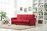 Roundhill Furniture Urban Fabric Storage Sofa Bed