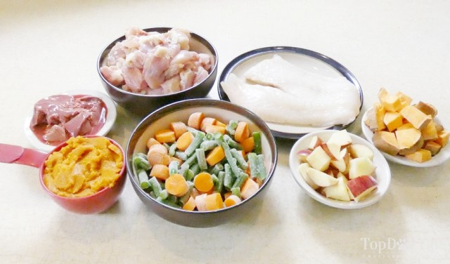 Homemade Dog Food for Digestive Disorders
