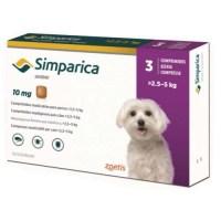 Simparica flea pills for dogs