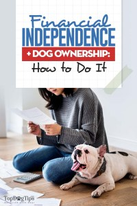 Financial Independence and Dog Ownership
