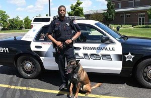 Illinois Cop Proudly Shows Off K9 Partner's Special Talent