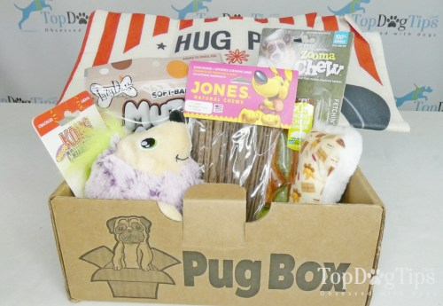 Pug Box Dog Subscription Box