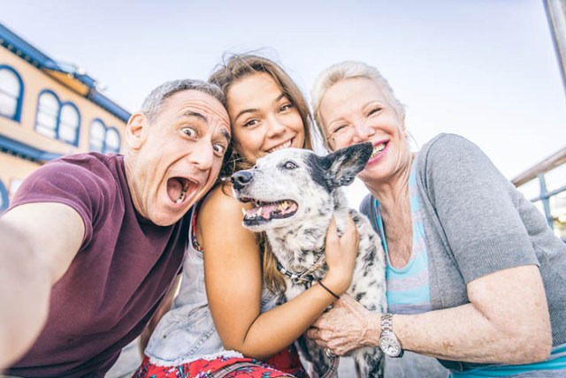 Your dog is in your family photos