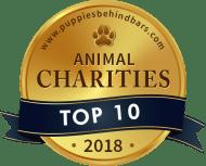 Top 10 Animal Charities - Puppies Behind Bars